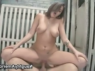 Amazing Chubby Hardcore  Natural Pornstar Riding Tattoo