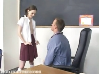 Old and Young School Skinny Skirt Student Teacher Teen