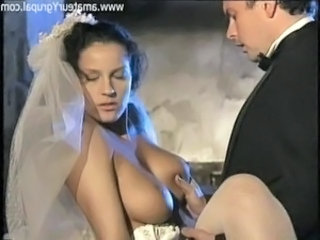 Big Tits Bride  Natural Pornstar Vintage