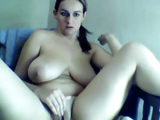 Big Tits Chubby Latina Masturbating  Natural  Solo Webcam