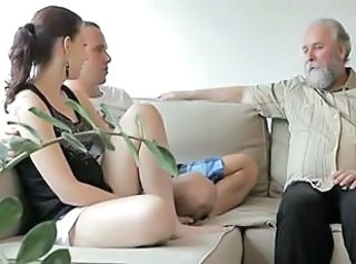 Daddy Daughter Family Old and Young Sister Teen Threesome Son