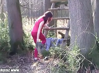 Amateur Outdoor Teen Forest Outdoor Amateur