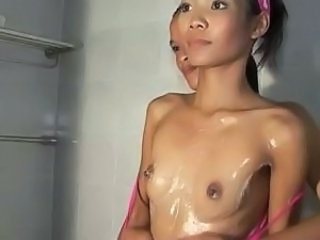 Asian Showers Skinny Small Tits Teen
