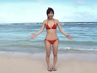 Asian Beach Bikini Japanese Outdoor Teen