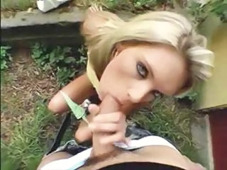 Amateur Blowjob Outdoor Pov Public Public