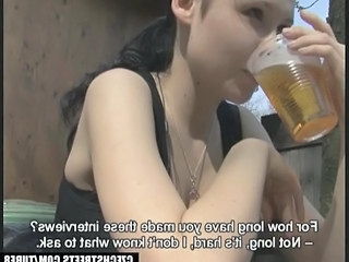Amateur Drunk European Teen Czech