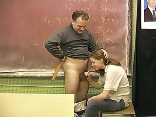 Daddy Handjob Old and Young School Small cock Teacher Teen Schoolgirl