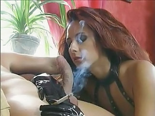 Fetish Latex Smoking