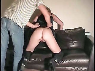 Spanking Housewife Amateur