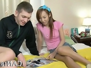 Asian Girlfriend Interracial Teen