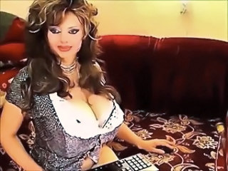 Amazing Big Tits  Mom Pornstar Solo Webcam