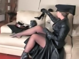 Fetish Latex Legs Mistress Leather