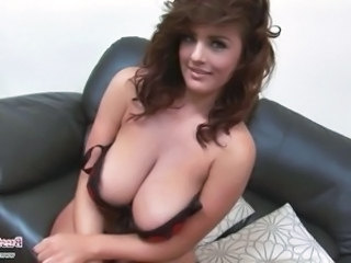 Amazing Big Tits European Lingerie  Natural Pornstar