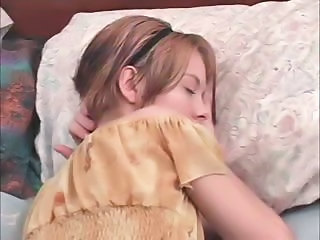 Sleeping Teen