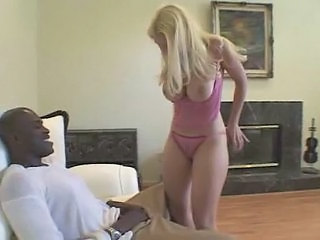 Amazing Big Tits Blonde Interracial  Natural Panty