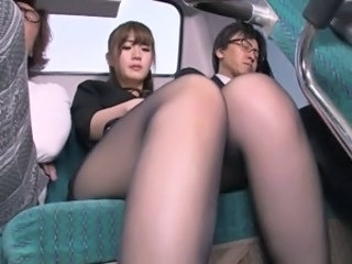 Asian Japanese  Pantyhose Public Wife