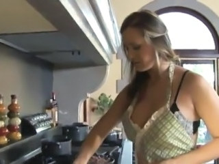 Big Tits Kitchen  Pornstar