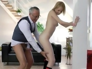 Cute Daddy Old and Young Teacher Teen Coed