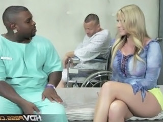 Big Tits Doctor Interracial  Pornstar