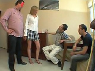 Cuckold Gangbang Skirt Wife
