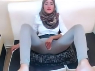 Amateur Arab Clothed Homemade Masturbating