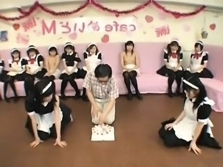Asian Game Maid Party Uniform