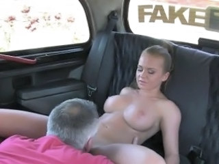 Amateur Big Tits Car Daddy Licking  Old and Young Boobs Amateur