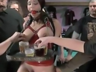 Bondage Fetish Party Slave