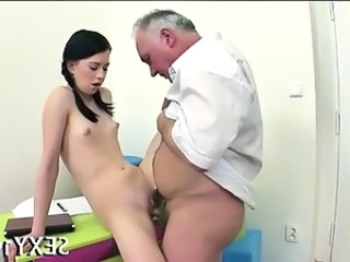 Daddy Old and Young Skinny Small Tits Student Teacher Teen