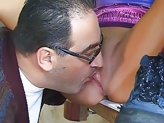 Daddy Licking Old and Young Pussy Teen