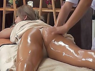 Asian Ass Massage Oiled