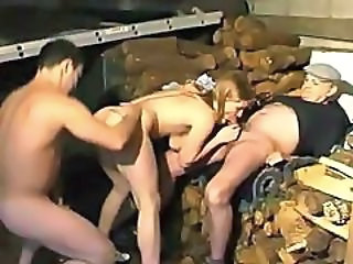 Blowjob Daddy Daughter Family Old and Young Teen Threesome