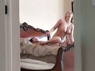 Riding Voyeur Wife Cheater Bedroom Spy
