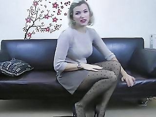Amateur British Casting European  Stockings