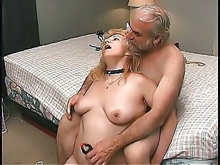 Daddy Fetish Old and Young Slave Bedroom