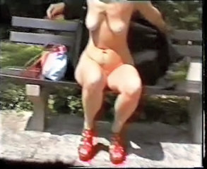 Amateur Mature Outdoor Public  Flashing