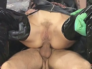 Anal Clothed Fetish Latex Kinky