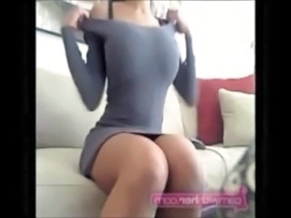 Amateur Big Tits Stripper Exhibitionist