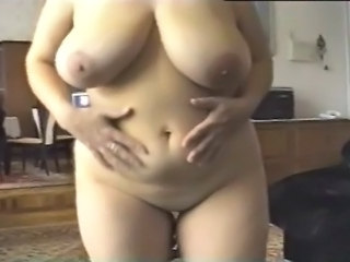 Amateur  Big Tits Natural  Wife Striptease