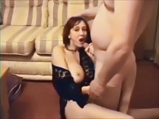 Amateur Big Tits Cumshot Homemade  Swallow Wife