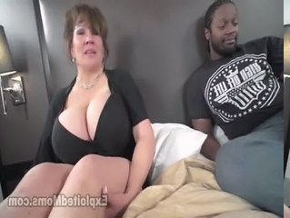 Amateur Big Tits Interracial Mature Old and Young Wife