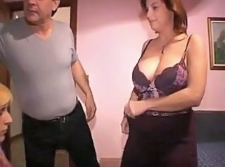 Big Tits Family Mature Stripper