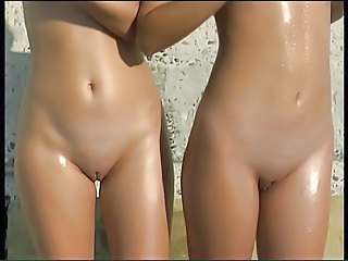 Beach Outdoor Pussy Shaved Teen