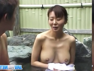 Asian Japanese  Outdoor Pool Dirty