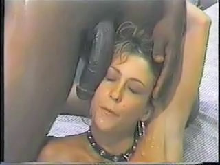 Cumshot Fetish Interracial Slave Swallow