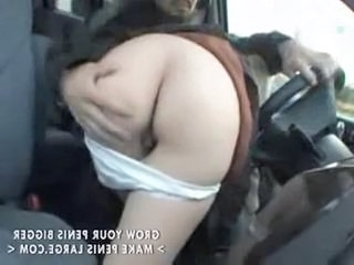 Asian Ass Blowjob Car Clothed Japanese Teen