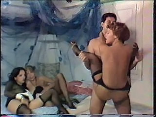 Groupsex Maid  Stockings Vintage