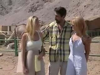 Farm Outdoor Pornstar Threesome