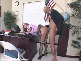 Clothed Doggystyle Office Student Teacher Teen