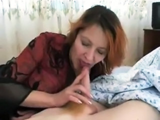 Amateur Blowjob Mature Mom Old and Young Redhead Small cock Danish